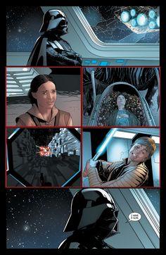 3947dd3d Darth Vader's motivation for betraying the Emperor. Star Wars ComicsStar ...