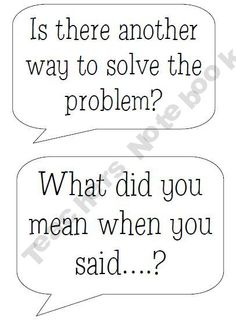 Accountable Talk Bubbles for Kids! product from The-Caffeinated-Teacher on TeachersNotebook.com