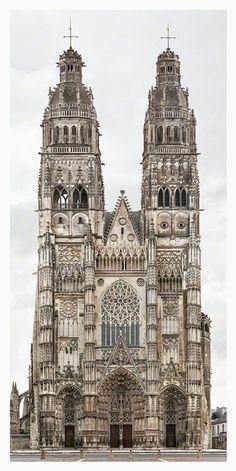 Tours - Cathédrale St Gatien - 2009-2015 Markus Brunetti - Biography < hartmannprojects.com