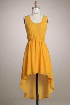 Hi-low hem dress - KocoSky
