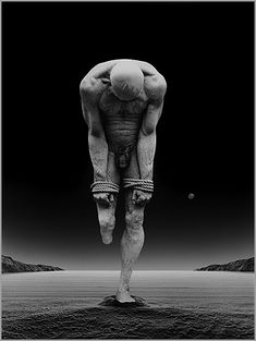 """Misha Gordin, from the series """"Doubt."""" Conceptual fine art photography.   #art #photography #MishaGordin"""