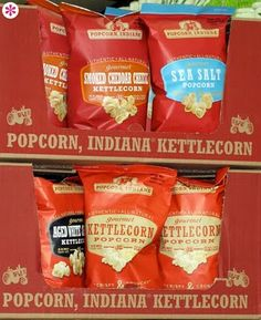 I love Popcorn, Indiana popcorn!!! One of my fave snacks! My favorite flavors are Buffalo Cheddar and Bacon Ranch!!! :)