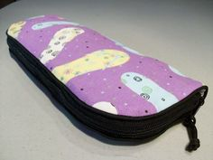 Flat Iron or Curling Iron Travel Bag - Flip Flops | HodgePodgeia - Bags & Purses on ArtFire