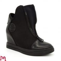 Pantofi Sport cu Platforma L8XX6286-1 Black Fashion&Bella