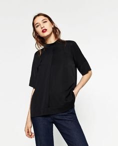 Image 2 of HIGH NECK TOP from Zara