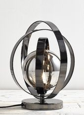 Smoke Josiah Vessel Table Lamp