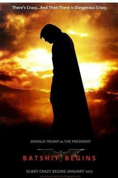 There's crazy...And Then There is Dangerous Crazy. Donald Trump as The President. Batshit Begins. Scary Crazy Begins January 2017