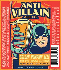 mybeerbuzz.com - Bringing Good Beers & Good People Together...: Anti Villain Ale Co - Golden Pumpkin Ale