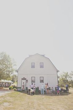 Host a rehearsal dinner or pre-wedding event on a picturesque barn to acquaint the wedding party with wedding guests. #countrywedding #rusticweddingdecor http://www.gactv.com/gac/photos/article/0,,GAC_42725_6075192.html?soc=pinterest