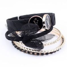 Lace Bracelet for Lady with Butterfly Knot: USD $5.42