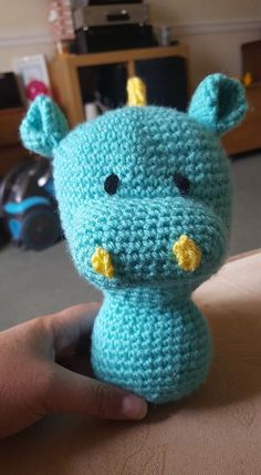 Dragon made by Tiffany-Louise Jones pattern by Juffrouw Hutsekluts