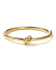"""kate spade knot bracelet. $78 Bridesmaid gift """"Thanks for helping me tie the knot!"""" ~so cute defiantally getting this for my bridesmaids!!"""