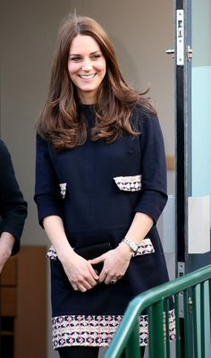 15 Jan 2015:  The Duchess of Cambridge was at Barlby Primary School in Ladbroke Grove to name Clore Art Room