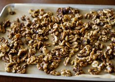 slow cooker sweet & spicy nuts (good to top salads, put in yogurt, etc.)