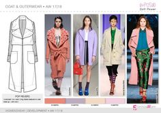 FW 2017-18 trend forecasting - Development - COATS & OUTERWEAR