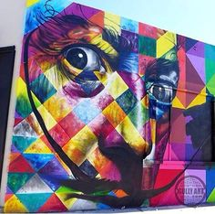Eduardo Kobra: explosión de color