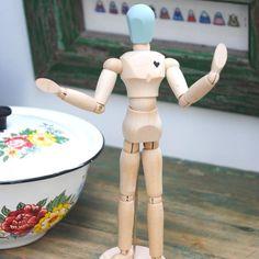 Wooden Mannequin - LOVE