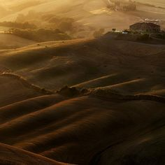A warm summer sunset in Tuscany .. by Edmondo Senatore on 500px