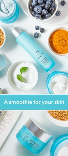 TULA products are formulated with unique probiotic technology and powerhouse nutrients to nourish your skin and fortify its natural glow, the same way a healthy diet nourishes and restores the body. Probiotics are the latest innovation in skincare -- see what they can do for your skin today!
