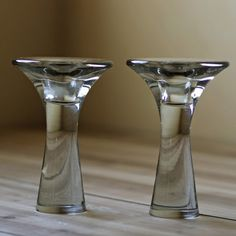 Tapio Wirkkala Candle Holders.  The Finns do great design.