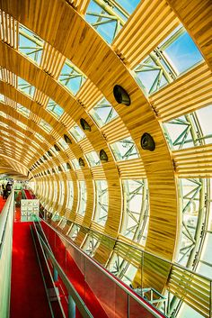 Charles de Gaulle International Airport, Ile-de-France, FR ☮k☮ Architecture Board, Interior Architecture, Paris France, I Love Paris, France Travel, Oh The Places You'll Go, The Good Place, Around The Worlds, International Airport