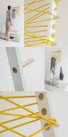 Ladder storage rack