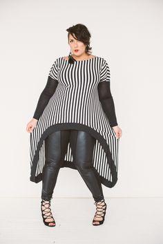 Re/Dress Online - Babooshka Monostripe Arch Caftan, $138.00 (http://www.redressnyc.com/babooshka-monostripe-arch-caftan/)