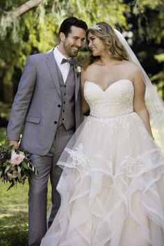 Wedding Dresses Plus Size 6432 Pink Lace Plus Size Wedding Dress by Stella York.Wedding Dresses Plus Size 6432 Pink Lace Plus Size Wedding Dress by Stella York Stella York, Wedding Gown Images, Plus Size Wedding Gowns, Xl Mode, Fairytale Gown, Perfect Wedding Dress, Dream Wedding, Lace Wedding, Gown Wedding