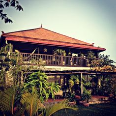 His house in Cambodia.    10 things I'm loving about Cambodia right now - new blog post from me. (click on the picture to read the post) I'm jealous!!