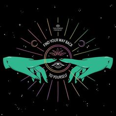 Feminist, spiritual and Empowering apparel and art. Cosmic Feminism refers to my fascination with the galaxies and my support for women's rights on a cosmic proportion! Pop Art Wallpaper, Insta Posts, Mind Body Soul, Pretty Words, Psychedelic Art, Words Quotes, Teen Quotes, Good Vibes, Vintage Witch