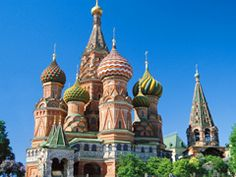 Viking River Cruises - Russia River Cruise - St. Basil's Cathedral, Moscow