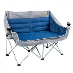 OZtrail Galaxy 2 Seater Camping Sofa With Arms