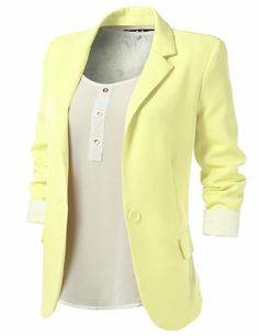 9XIS Womens Boyfriend Blazer,Light Yellow,Small 9XIS,http://www.amazon.com/dp/B00C7M1V3O/ref=cm_sw_r_pi_dp_96VHsb1TH3BPMFWW