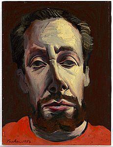 Albert TUCKER, Self portrait 1954