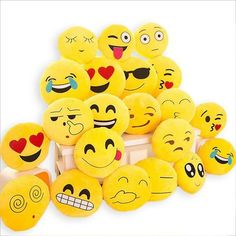 *24 Styles*  Large Emoji Pillows