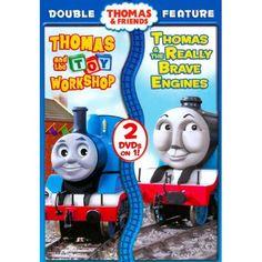 Thomas & Friends: Thomas & the Toy Workshop/Thomas & the Really Brave Engine (DVD) (got it!)