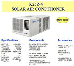 Kingtec has developed affordable solar-powered air conditioning in a relatively neat package. Here are some of the key details: […] Solar Energy Panels, Best Solar Panels, Solar Energy System, Solar Panel System, Panel Systems, Solar Powered Air Conditioner, Solar Roof Tiles, Electric, Solar Projects