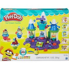Conjunto Play-Doh Castelo de Sorvete - Hasbro