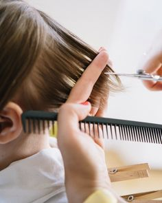 A CUP OF JO: How to cut a child's hair
