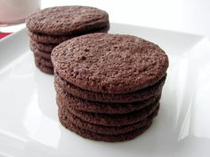 :pastry studio: Cocoa Wafers