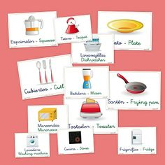 Vocabulario básico: la cocina