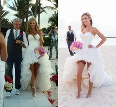 Sexy Hi Lo Beach Wedding Dresses 2016 Simple Sweetheart Backless Summer Wedding Gowns White Ruffles Bridal Gowns Vestido De Noiva Wedding Dresses 2011 Wedding Dresses Best From Angelia0223, $169  Dhgate.Com