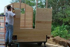 This wagon was built by a collaboration of Paleotool (author of Building a Gypsy Wagon), myself (PaleoPunk), and our friend, AmericanPikey. The AmericanPikey...