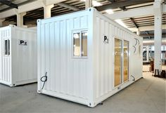 Gallery - Shipping Container Homes, Modular Homes Cheap Prefab Homes, Prefab Modular Homes, Building A Tiny House, Building A Shed, Cheap Houses To Build, Guest House Shed, Shipping Container Homes, Shipping Containers, Container House Plans