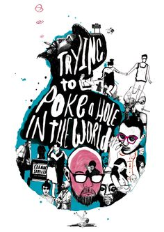 AOI Critics Choice Award 'Trying to Poke a Hole in the World' - Peter Strain Illustration