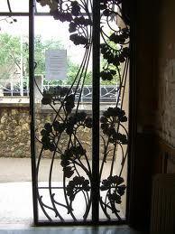 Louis Majorelle ironwork.  School of Nancy.
