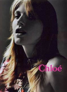 chloe fall 2003 campaign3 TBT | Chloes Hippie Chic Fall 2003 Ads with Angela Lindvall