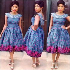 Ankara Styles With Pretty Blooms and Eye-Popping Trends - Wedding Digest NaijaWedding Digest Naija