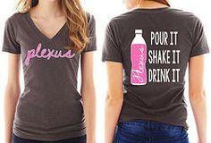 Pour It, Shake It, Drink It V-Neck (Gray Shirt)