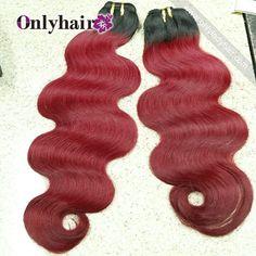 #1b&red color body wave Pls order link: vickie@onlyladyhair.com whatsapp:8618565598638 #onlyhair #ombrehair #virginhair #humanhair #hairfashion #hair #lovehair #hot #hairstyles #hairsalon #beauty #brazilianhair #bundles #hairlove